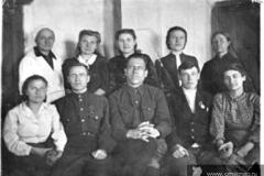 Кабанье 1946-1947 г. в школе