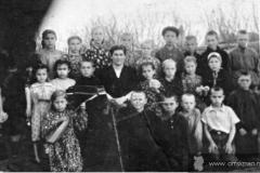 Кабанье 1955 г. Школьный музыкальный кружок