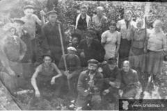 Кабанье 26 августа 1951 г. Воскресник на сенокосе