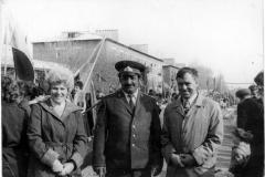 Супруги Мищенко Зинаида Христофоровна и Виктор Павлович и Алик Ахмедов
