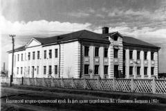 школа №1 На этом месте - детский сад № 7